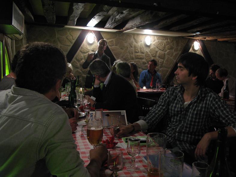 25 octobre 2012 d ner des amis de chemins d 39 toiles for Recevoir des amis a diner