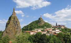La ville du Puy-en-Velay - Photo office de tourisme du Puy-en-Velay